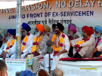 Govt likely to declare One Rank One Pension today