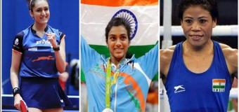 सिंधु, मैरीकॉम, मनिका ने जगाई पदक की उम्मीद – भारत पदक तालिका में अभी संयुक्त 21वें स्थान पर है.